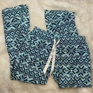 🍊VS PINK Flannel Pajama Bottoms